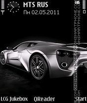 Скриншот темы Zenvo
