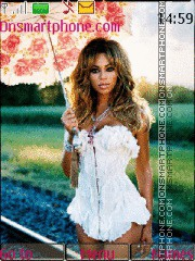 Beyonce 07 theme screenshot
