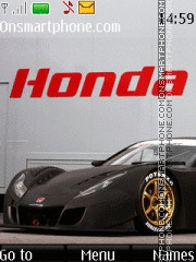 Honda HSV-010 GT theme screenshot