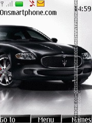 Maserati 2011 theme screenshot