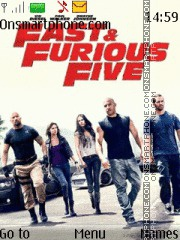 Fast Five and Tone theme screenshot