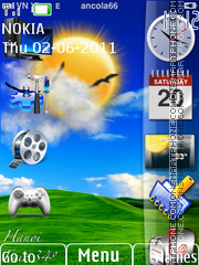 Windows 8 Mobile theme screenshot