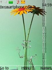 Скриншот темы Flowers 03