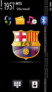Barcelona 2013 tema screenshot