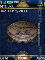 Jeans Montana theme screenshot