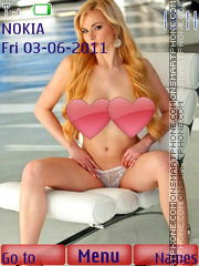 Sexy model147 es el tema de pantalla