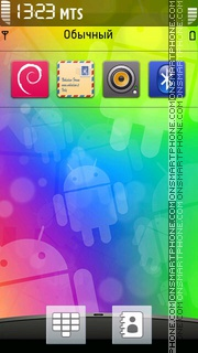 HTC Android Theme theme screenshot