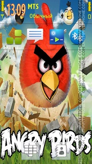 Angry Birds es el tema de pantalla