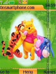 Скриншот темы Pooh N Friends 02