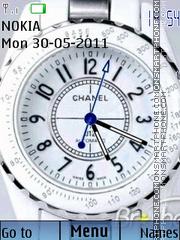 Animated Clock 04 theme screenshot