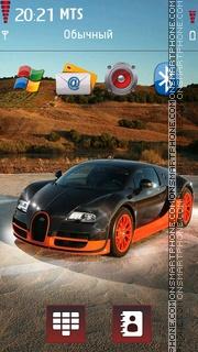 Bugatti V2 tema screenshot