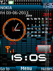 Xpress Calendar theme screenshot