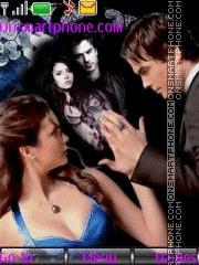 Damon & Elena theme screenshot