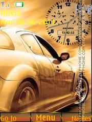 Beautiful Car and Clock es el tema de pantalla