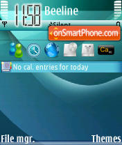Abstractus Vista theme screenshot