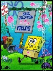 Spongebob ndh es el tema de pantalla