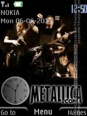 Metallica By ROMB39 theme screenshot