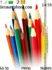 Crayons theme screenshot
