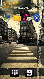 City Road HD theme screenshot