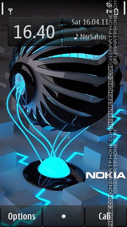 Nokia Future 01 theme screenshot