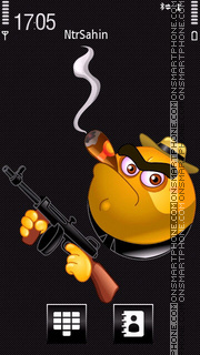 Gangster 05 theme screenshot