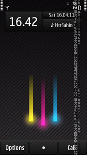 Скриншот темы Stripes 03