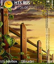Unreal theme screenshot