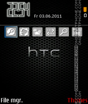 Htc Love theme screenshot