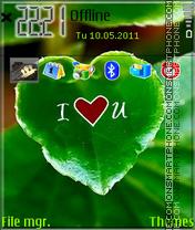 Nature Love theme screenshot