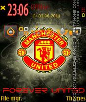 Manchester United Forever es el tema de pantalla