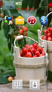 Cherries 04 theme screenshot