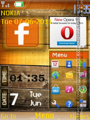 Facebook 08 theme screenshot