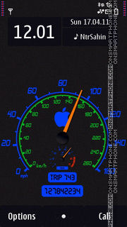 Speed 292 theme screenshot