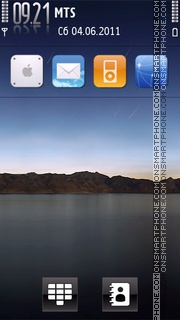 I-pad Theme V2 01 theme screenshot