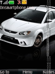 Proton satria theme screenshot
