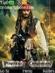 Jack Sparrow 10 theme screenshot