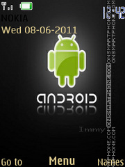 Andriod icon theme screenshot