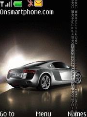 Audi R8 29 theme screenshot