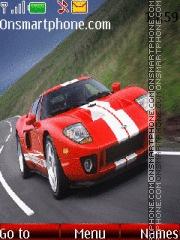 Скриншот темы Red Ford GT 01