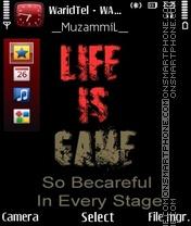 Скриншот темы Life Is Game