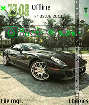 Ferrari 603 theme screenshot