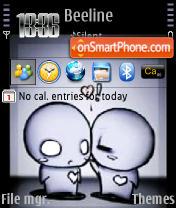 Kiss 240 yI tema screenshot