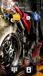 Moto Gp 03 theme screenshot