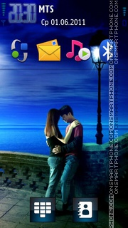 Cool and Romantic Hd tema screenshot
