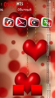 Red Heart 05 theme screenshot