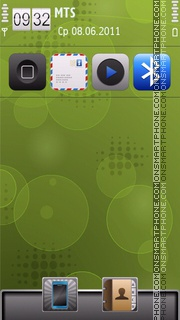 Iandroid tema screenshot