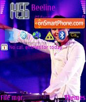 DJ Tiesto theme screenshot