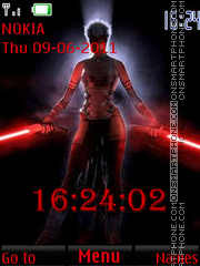 Woman Warrior By ROMB39 theme screenshot