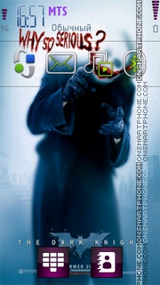 Joker tema screenshot