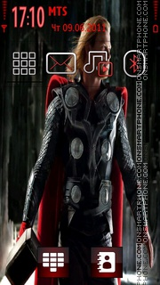 Thor Movie es el tema de pantalla